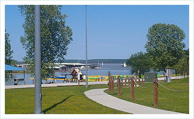 Fun family campground in Oklahoma at Lake Eufaula